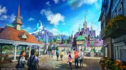 Tokyo DisneySea Frozen land