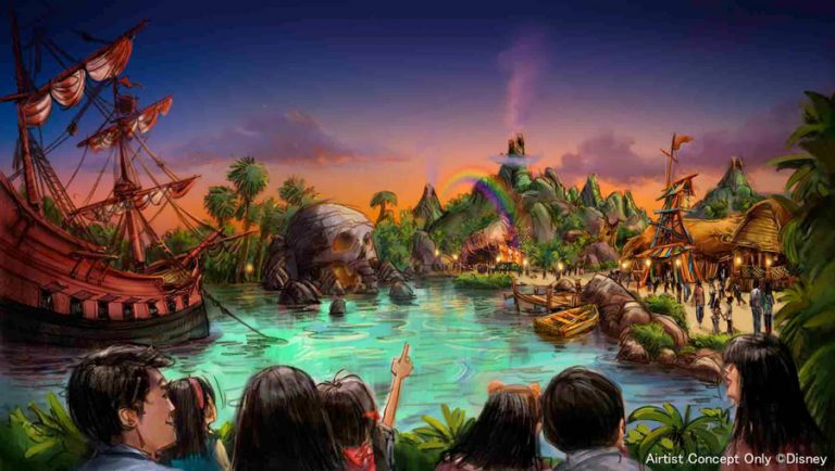 Tokyo DisneySea Peter pan land