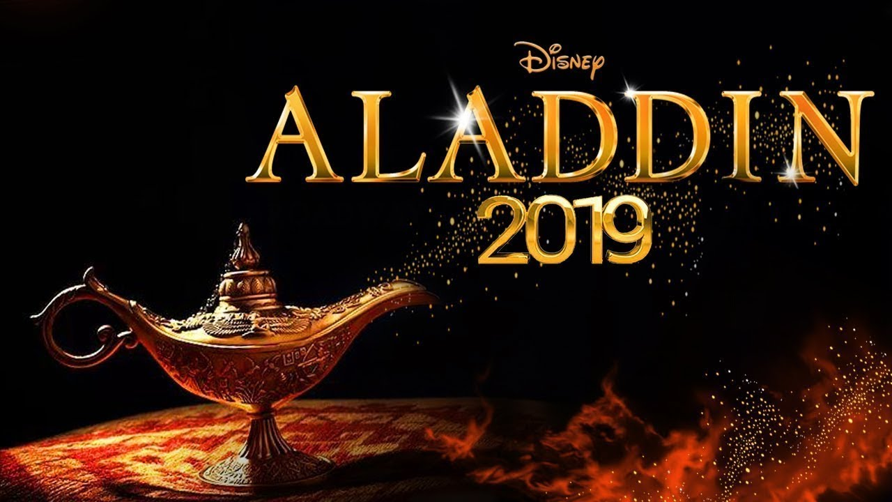 Movie Poster 2019: Aladdin (live Action)