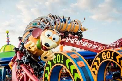 Slinky Dog Dash Roller Coaster (Disney World Ride)