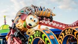Slinky Dog Dash Roller Coaster (Disney World) toy story land