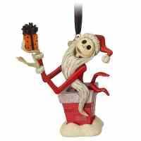 Jack Skellington Sketchbook Christmas Ornament