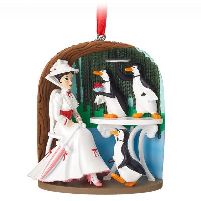 Mary Poppins Sketchbook Christmas Ornament