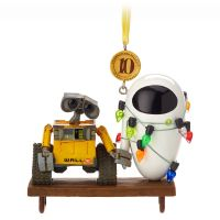 WALL-E and EVE Sketchbook Christmas Ornament