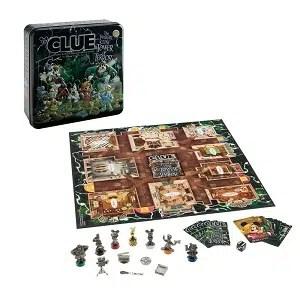 Clue The Twilight Zone Tower of Terror Disney Game