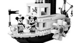 Steamboat Willie LEGO Disney Set