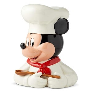 Chef Mickey Mouse Cookie Jar | Disney Home Goods