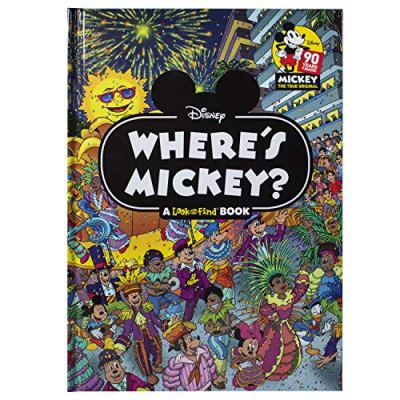 Where's Mickey – A Look and Find Book Activity Book