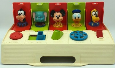 Disney Characters Poppin Pals Busy Box Toy – 1975
