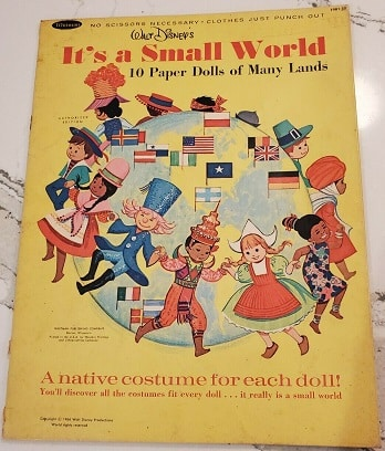 It's a Small World Paper Dolls – 1966