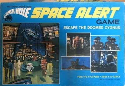 The Black Hole Space Alert Board Game – 1979