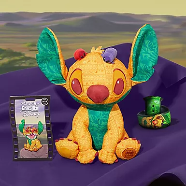 Disney Shows a sneak peek of Series 3 of Stitch Crashes Disney Featuring the Lion King