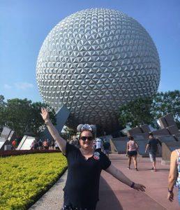 Spaceship Earth at Epcot Walt Disney World