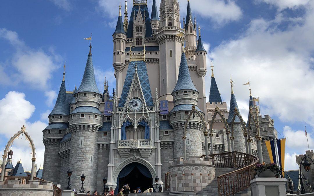 walt disney world magic kingdom castle