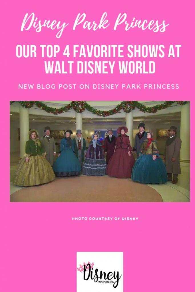 Top 4 Stage Shows Walt Disney World
