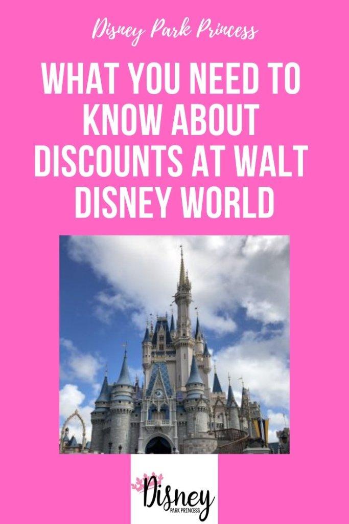 Walt Disney World Discounts