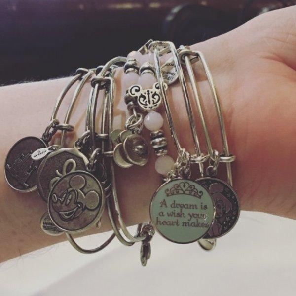 Alex & Ani bracelet Disney