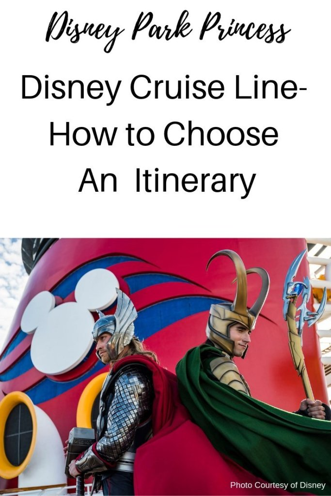 Disney Cruise Line - How to Choose an Itinerary! Bahamas? Caribbean? Alaska? Learn our tips to choose the perfect Disney Cruise sailing for your family. #disneycruise #disneycruiseline