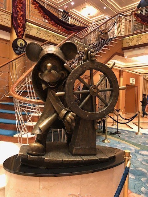 Disney Cruise Line – What to Expect When You Board the Ship on Embarkation Day