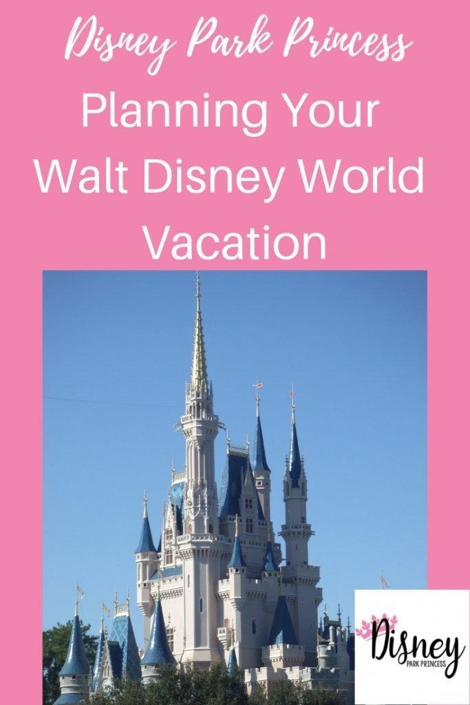 Learn the steps to take to start planning your Walt Disney World vacation! #disneyworld #waltdisneyworld #travel