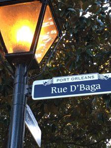 Walt Disney World Port Orleans French Quarter Resort Moderate Street Sign