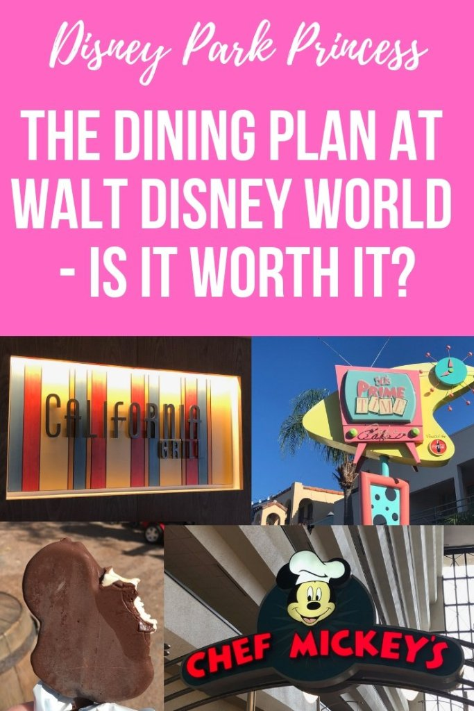 The Disney Dining Plan at Walt Disney World - Is It Worth it? #disneyworld #disneydiningplan #disneyfood #disneydining
