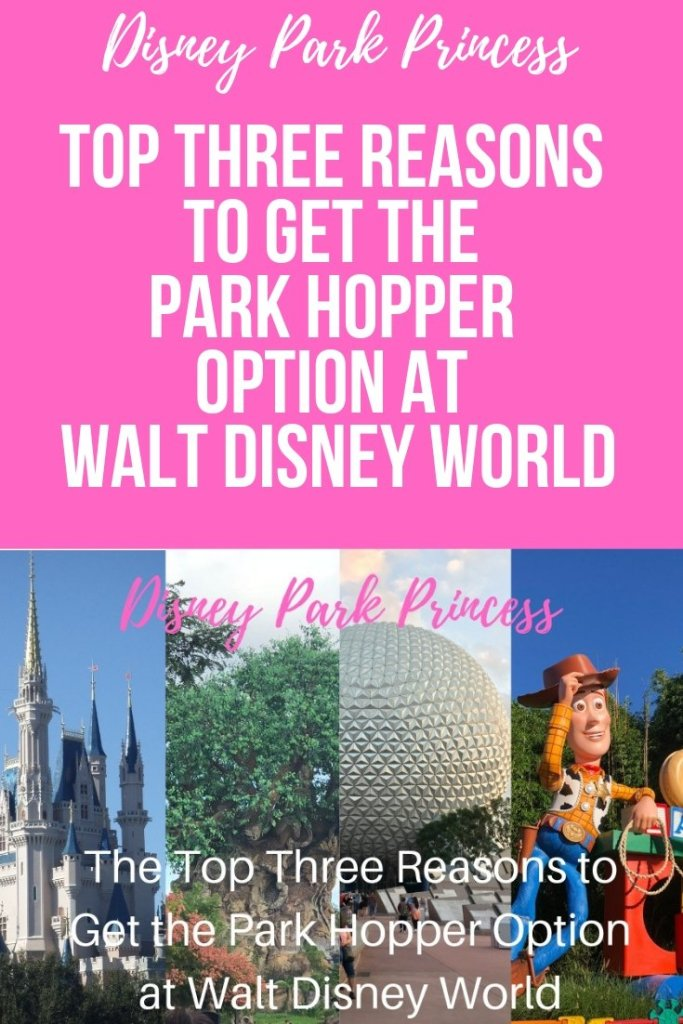 Why you should get the Park Hopper Ticket at Walt Disney World #waltdisneyworld #disneyworld #parkhopper #disneytickets
