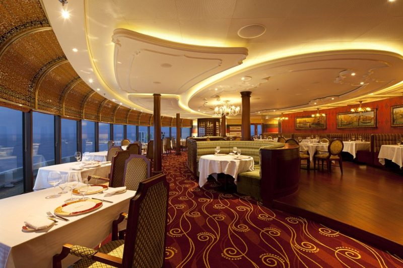 Palo Disney Cruise Line Adult Exclusive Restaurant