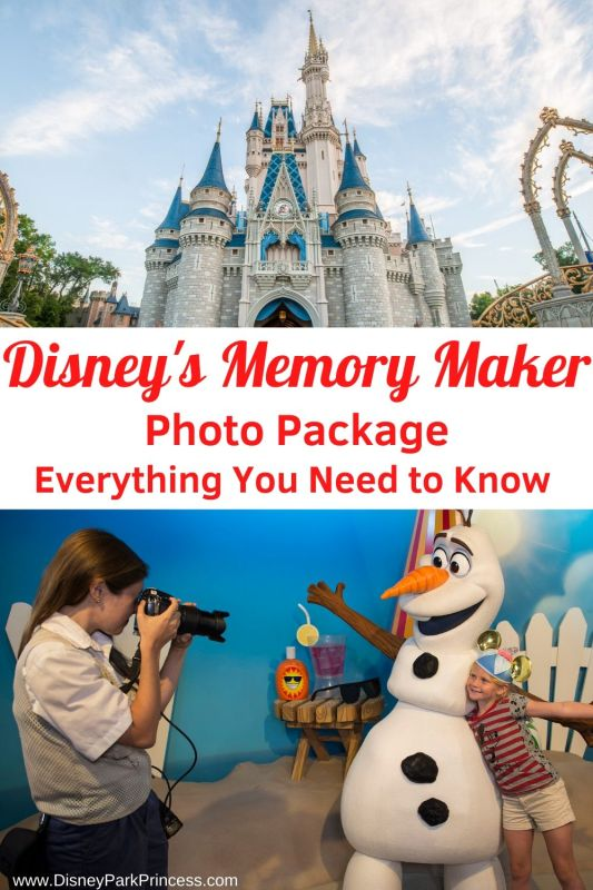 Disney's Memory Maker Photo Package ensures that everyone gets in the picture! Learn why we think Memory Maker is worth adding to your Walt Disney World vacation package.