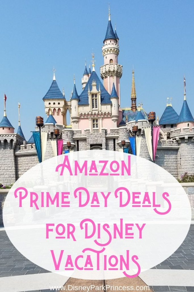 Amazon Prime Day is the perfect time to stock up on items for your Disney vacation! #PrimeDay #Amazon #Disney #Disneymusthaves