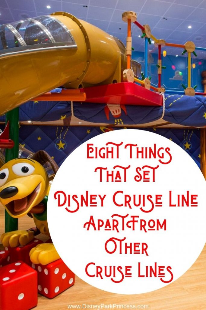 Eight Things That Set Disney Cruise Line Apart From Other Cruise Lines