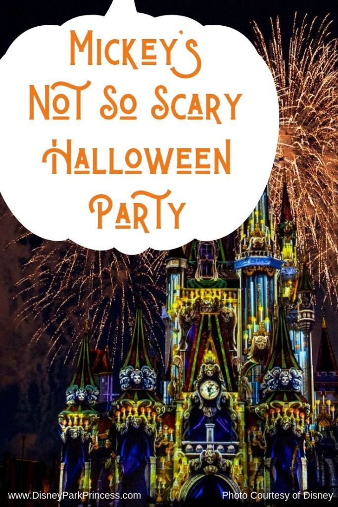 Mickey's Not So Scary Halloween Party is an after ours event at the Magic Kingdom. It is the perfect way to celebrate Halloween at Walt Disney World! Learn more about the shows, characters, parades, and more. #waltdisneyworld #disneyworld #halloween