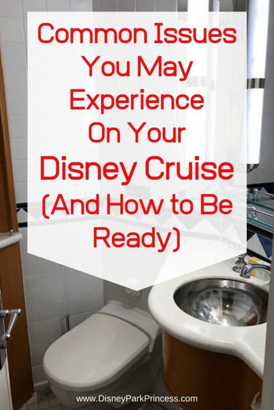"""Common Issues You May Experience on Your Disney Cruise. not even Disney Cruise Line can be perfect all of the time! Learn some of the most common """"issues"""" you may experience on your Disney Cruise, and how to handle them. #disneycruise #travel #commoncruiseissues"""