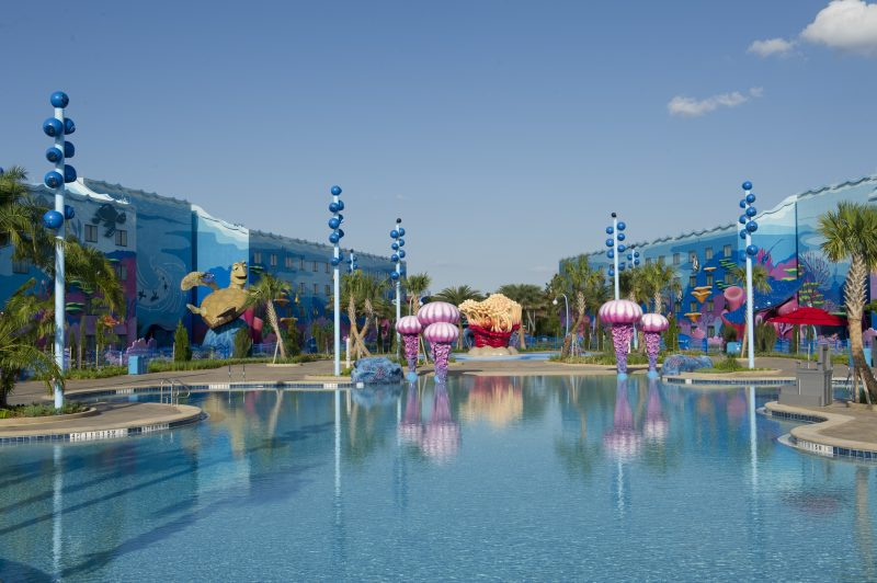 Walt Disney World Art of Animation Big Blue Pool