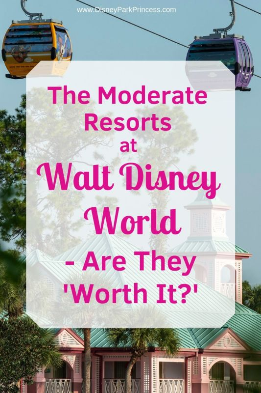 """When choosing a resort for your Walt Disney World vacation, how do you decide? Learn if we think the Moderate Resorts are """"Worth It"""" for the price! #waltdisneyworld #disneyworld #worthit #hotels #travel"""