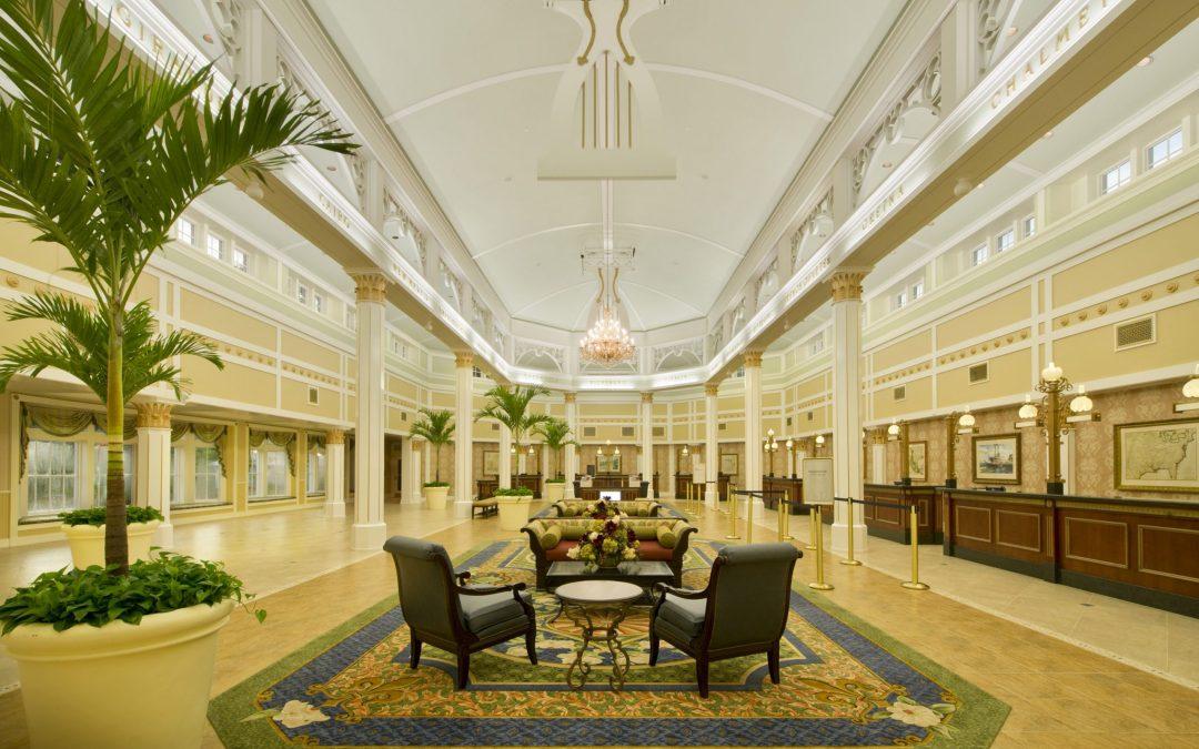 Disney's Port Orleans Riverside Lobby Moderate Resort