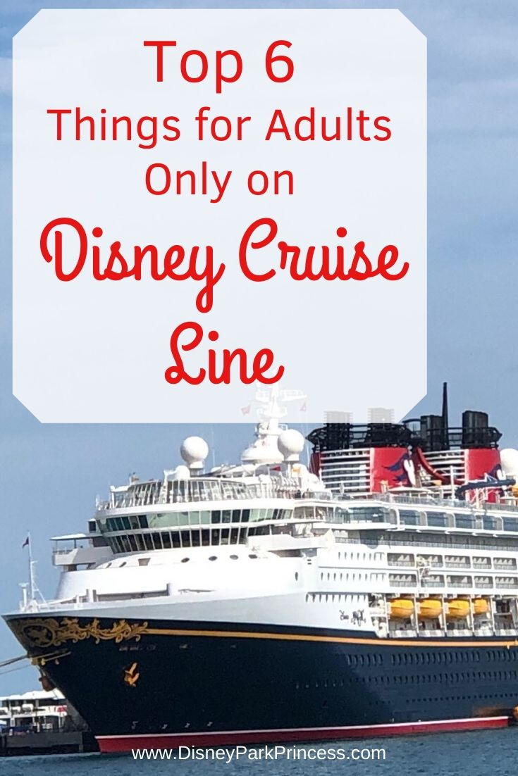 Disney is known for its family friendly parks, hotels, and cruises. But Disney Cruise Line is also perfect for adults, with or without kids tagging along! #disney #disneycruiseline