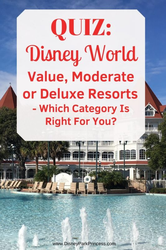 QUIZ: Which Type of Walt Disney World Resort is Right For You? Take our fun quiz to find out!