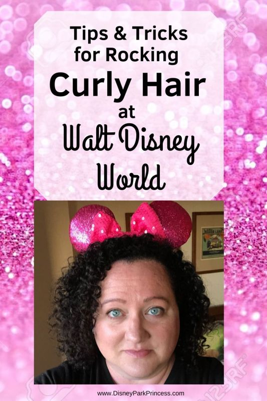 Humidity, Rain, Rides - these are all nightmares for curly girls! Learn our top tips & tricks for rocking your naturally curly hair at Walt Disney World!