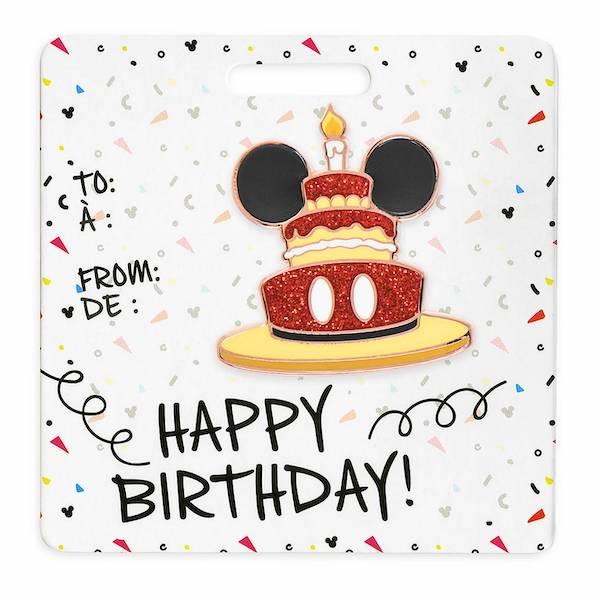 Mickey Minnie Happy Birthday Shopdisney Pins Disney Pins Blog