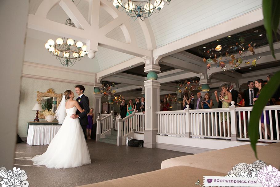 Natalie Adam Boardwalk Inn Sea Breeze Point Wedding Beach Club Reception At Ariels