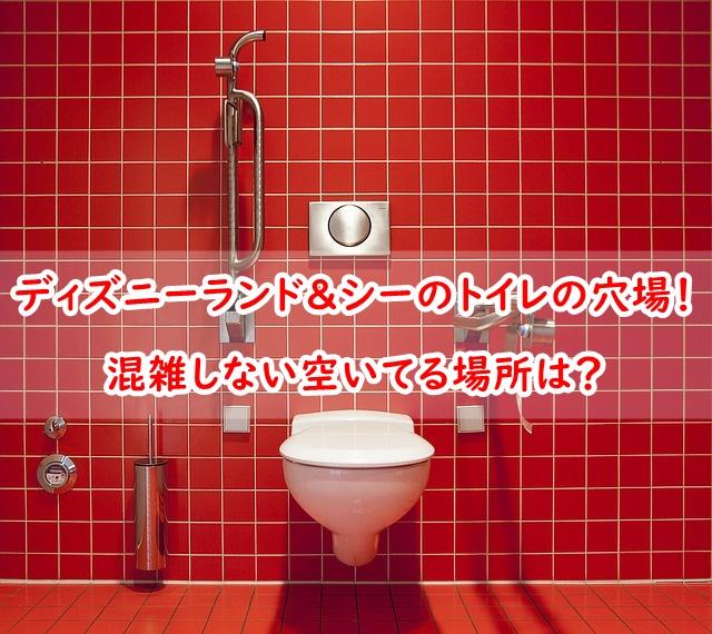 ディズニーランド ディズニーシー トイレ