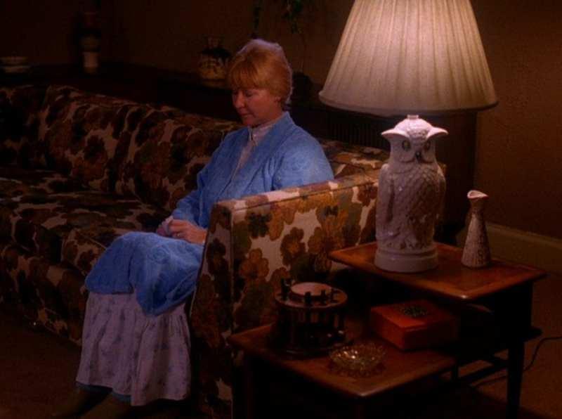 Betty Briggs waits