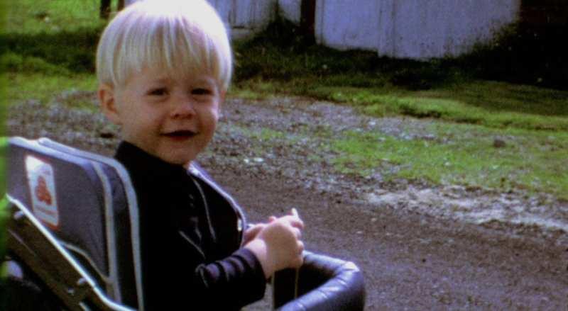 Kurt Cobain as a toddler