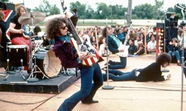 MC5 on stage 1969