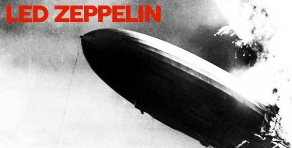 Led Zeppelin self titled album cover