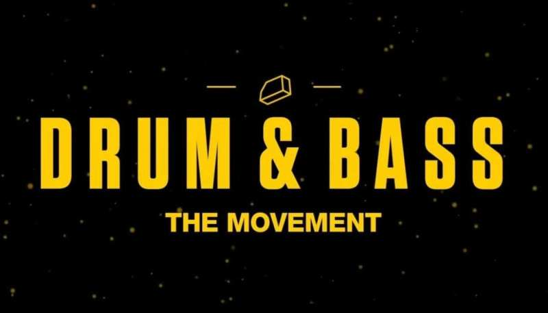 Drum & Bass the Movement header graphic