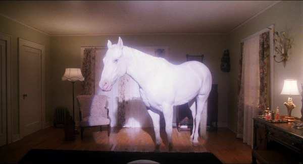white horse in twin peaks