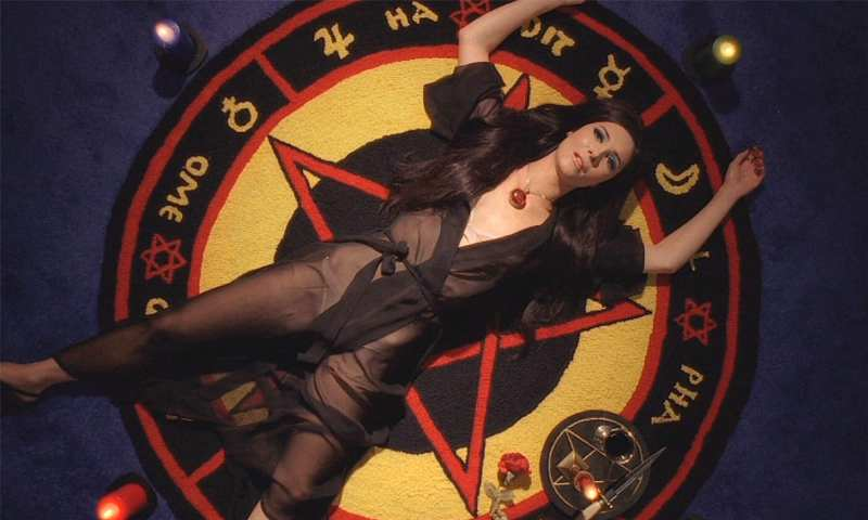 the love witch on a pentagram