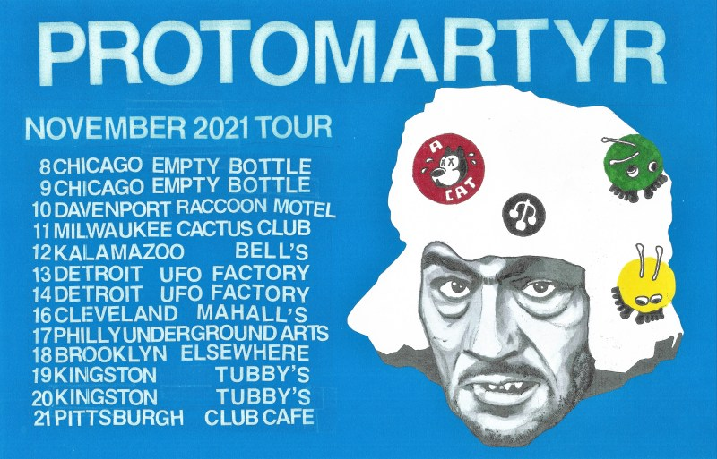 protomartyr ultimate success today tour
